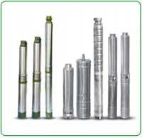 V4 Water filled Borewell Submersible Pump Set