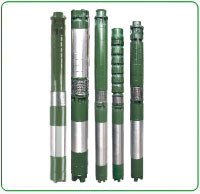 V6 Water filled Borewell Submersible Pump Set