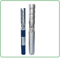 V7 Stainless Steel Borewell Submersible Pump Set